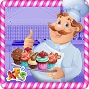 Cupcake Bakery – Crazy kitchen chef cake maker