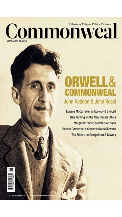 Commonweal Mag review screenshots