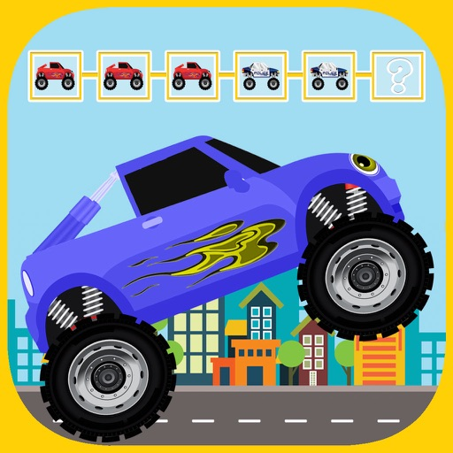 Pattern Game For Blaze Monster Car Racing Machines iOS App