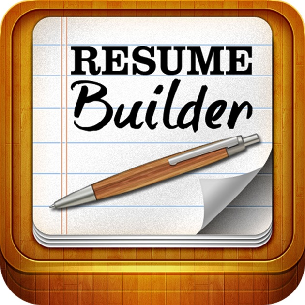 resume builder on the app store