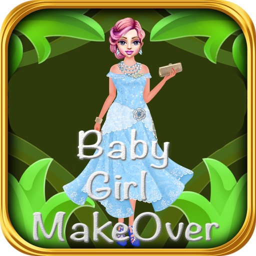 Baby Girl MakeOver iOS App
