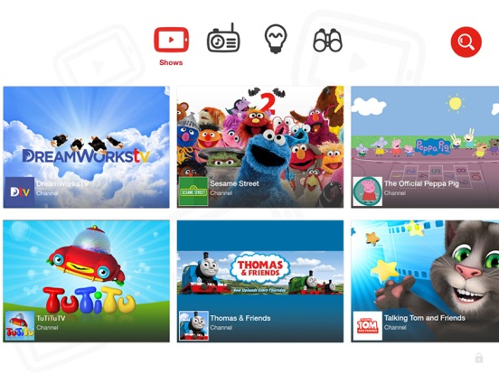 Screenshot #1 for YouTube Kids