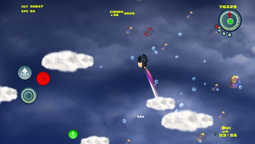 Tungoo - Bubble bursting vertical platformer Screenshot