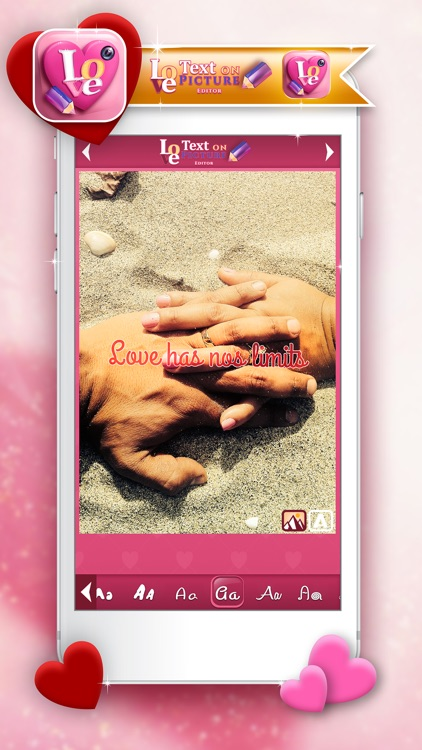 Love Text On Picture Editor Tool For Adding Cute Quotes And Classy Photo Editor With Love Quotes