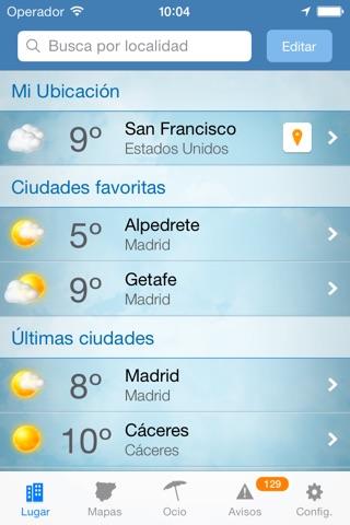 Tiempo y Temperatura screenshot 1