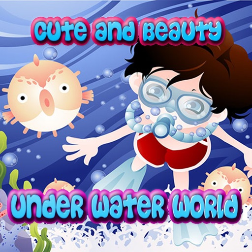 Cute And Beauty Under Water World iOS App