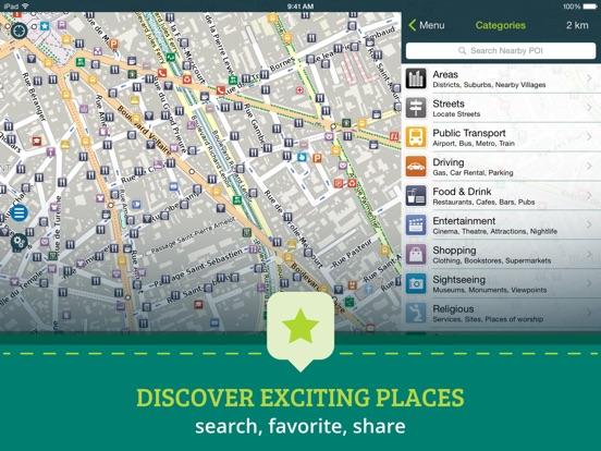 Screenshot #4 for Pocket Earth Offline Maps & Travel Guides