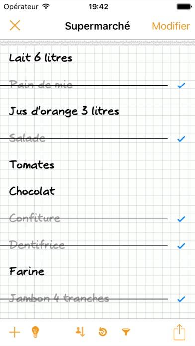 download Liste de courses Courzeo apps 3