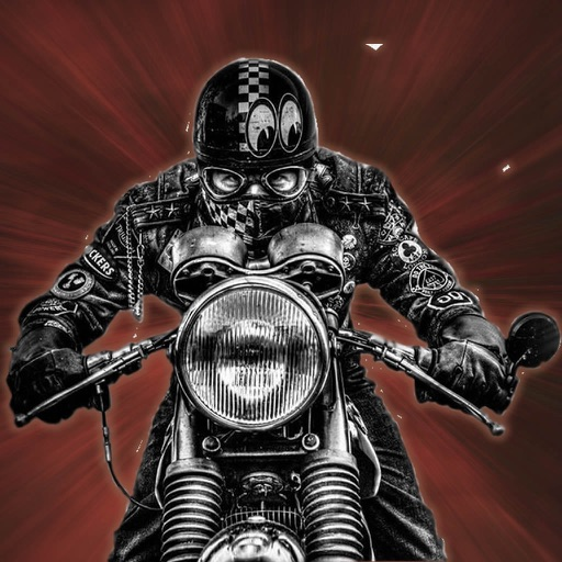 Real Biker Chase - Incredible Motorcycle Old Game iOS App