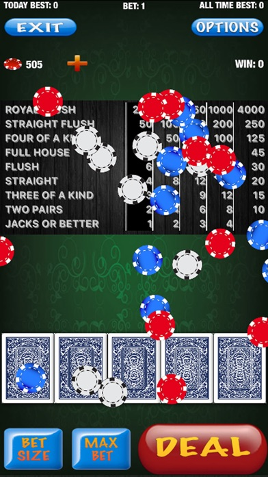 Flush Poker - Royal Flush Screenshot