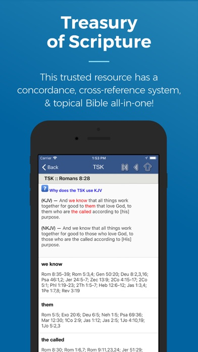 What denomination is blue letter bible
