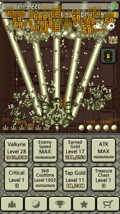 Work hard, Valkyrie! Screenshot