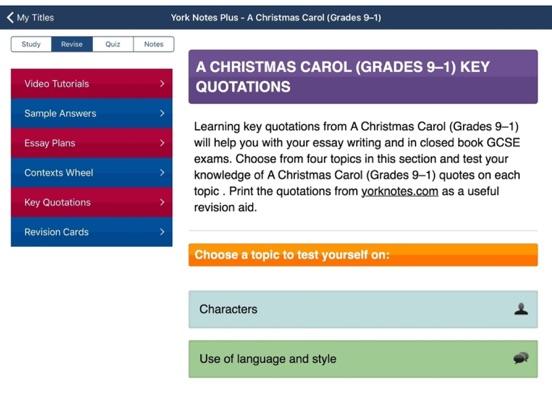 a christmas carol york notes for gcse ipad on the app store ipad screenshot 3