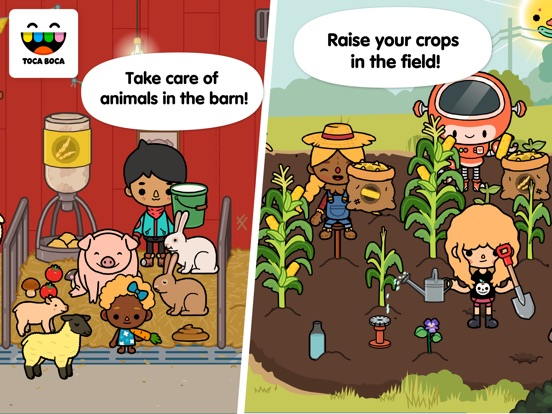 Screenshot #1 for Toca Life: Farm