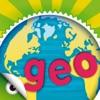 Planet Geo - Welt Geographie Spiele für Kinder