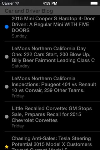 Feeddler RSS Reader Pro 2 screenshot 4