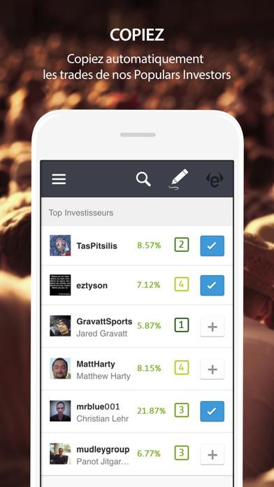 eToro - Trading socialCapture d'écran de 2