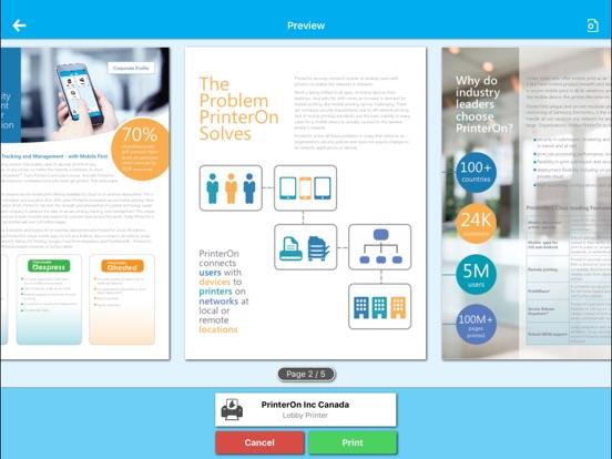 PrinterOn for MobileIron Скриншоты8