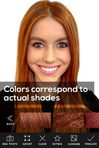Hair Color screenshot 3