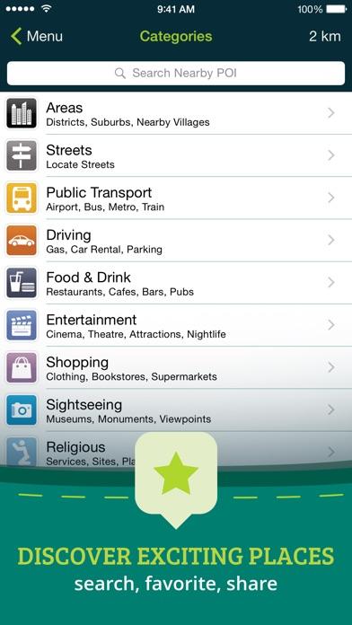 Screenshot #9 for Pocket Earth Offline Maps & Travel Guides