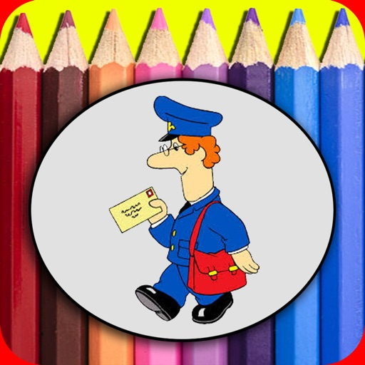 Occupation Coloring Book For Kids Free iOS App