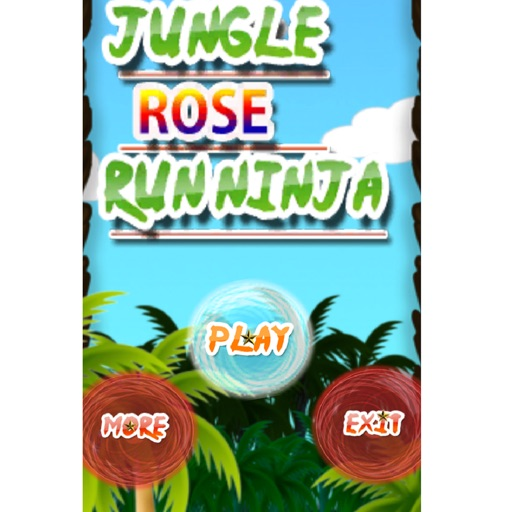 Jungle Rose Run Ninja iOS App
