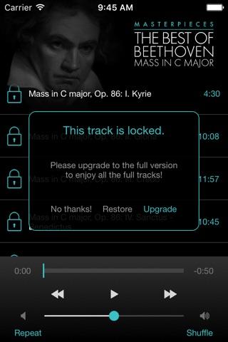 Beethoven: Mass in C major screenshot 4