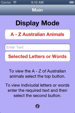 Australian Animal Alphabet screenshot 1