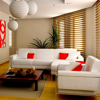 Living Room Design Ideas with Interior Decorations