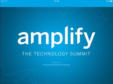 Amplify: The Technology Summit-ipad-0