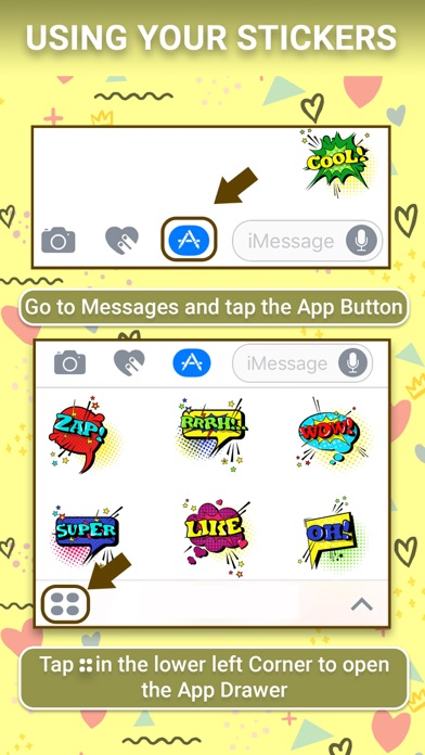 download Comic Speech Animated Stickers apps 3