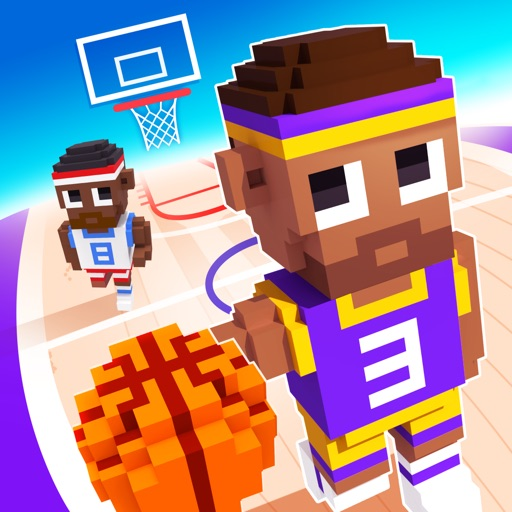 Blocky Basketball - Endless Ar... app for ipad