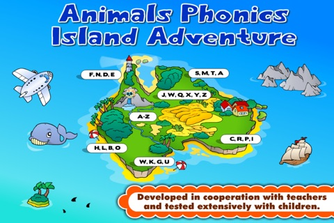 Phonics Island • Letter Sounds screenshot 3