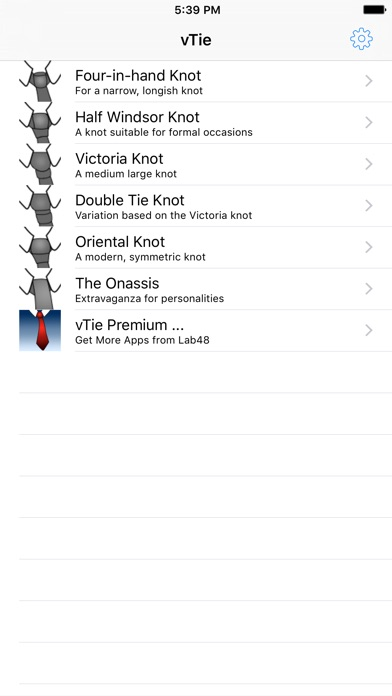 vTie - tie a tie guide with style for business, interview, wedding, party screenshot one