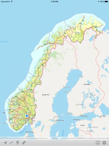 Topo Maps Norway On The App Store - Norway topographic map