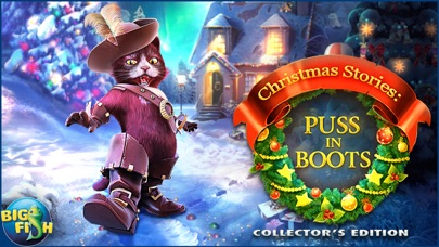 Christmas Stories: Puss in Boots - A Magical Hidden Object Game (Full) screenshot 5
