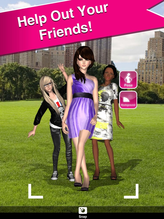 Style Me Girl - Free 3D Fashion Dressup on the App Store