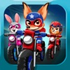 Super Hero Pets Biker Race 3.0– Bike Game for Free