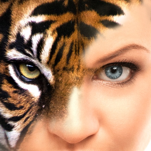 Eye Blender - Face Morph & Blends with Tiger, Leopard & Wolf for Instagram iOS App