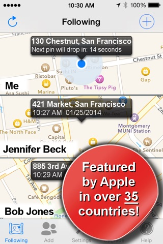Phone Tracker for iPhones screenshot 1