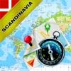 スカンジナビア:デンマーク、ノルウェー、スウェーデン、フィンランド - オフライン地図&GPSナビゲータ