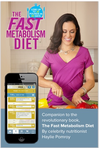 The Fast Metabolism Diet– customized meal planning screenshot 1