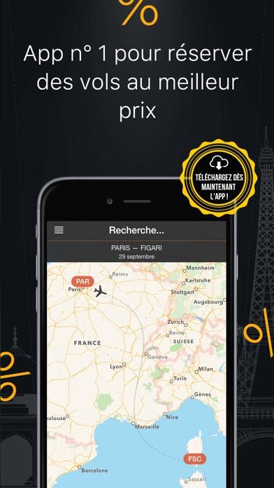 Vols à rabais – La meilleure app de recherche après Skyscanner, Expedia et KayakCapture d'écran de 5