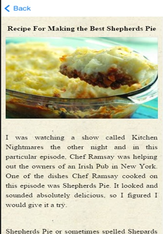 Shepherds Pie Recipes screenshot 3