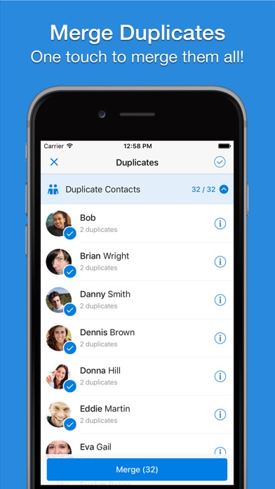 Screenshot #8 for Simpler - Smart contacts manager