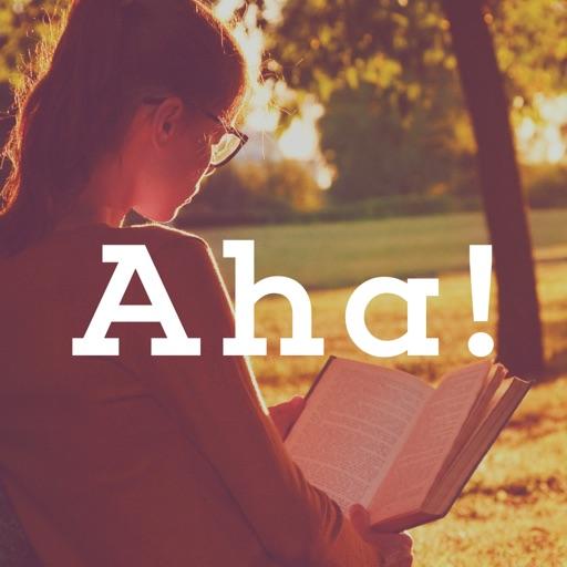 Aha![アハ]-脳トレとアハ体験で頭を柔らかくする無料IQゲーム- iOS App