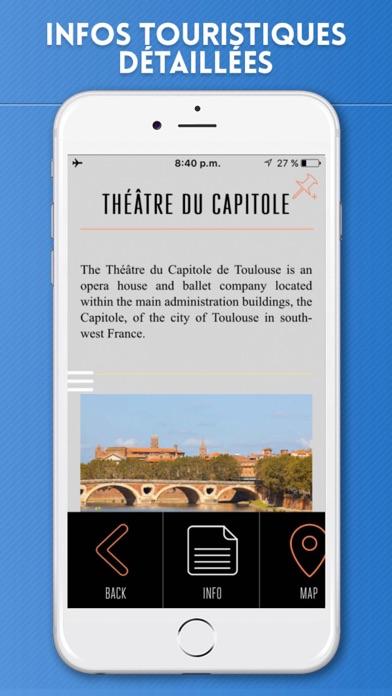 Toulouse Guide de Voyage avec Carte OfflineCapture d'écran de 3