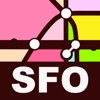 San Francisco Transport Map -  Metro Map and Route Planner