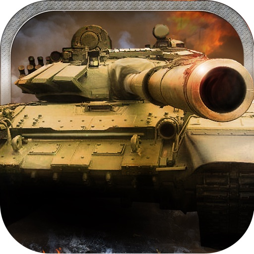 A Battle Tank Force Shooting Combat Game iOS App