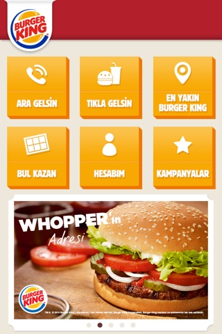 Burger King Türkiye screenshot 1